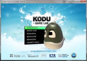 Kodu Game Lab v češtině