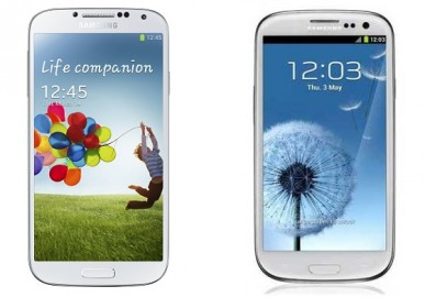 Samsung Galaxy S3 vs Samsung Galaxy S4