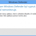 Jak vypnout Windows Defender a Microsoft Security Essentials ve Windows 8