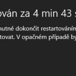 Jak zakázat automatické restartování PC po instalaci aktualizací