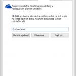 Jak přesunout složku OneDrive (SkyDrive) ve Windows?