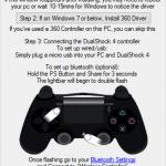 Jak připojit PlayStation 4 gamepad k počítači a emulovat XBOX ovladač